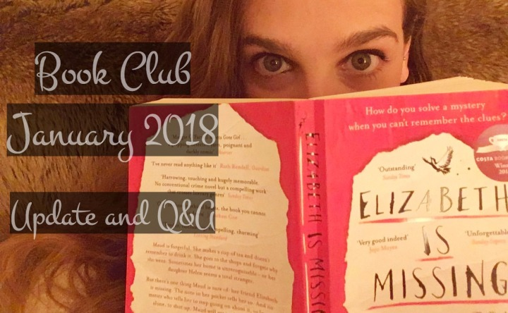 Book Club – Elizabeth is Missing Q&A