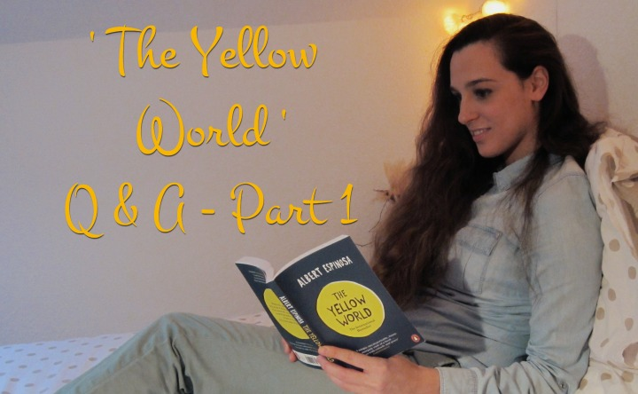 Book Club: 'The Yellow World' – Q&A Part 1