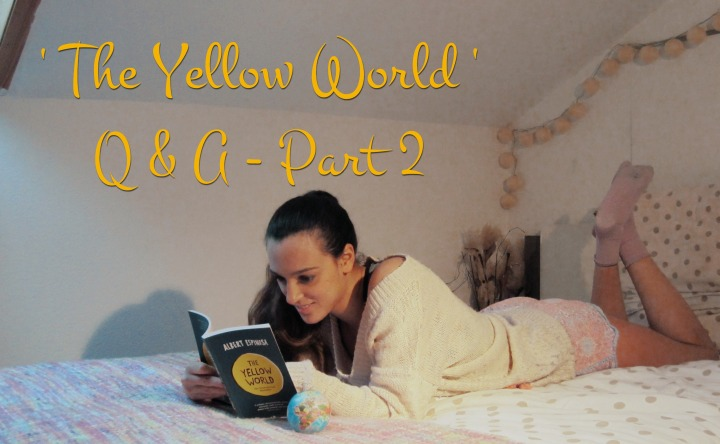 Book Club: 'The Yellow World' – Q&A Part 2