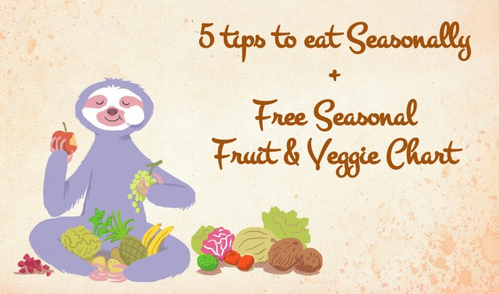 Healthy Habits: Eating healthy & seasonally