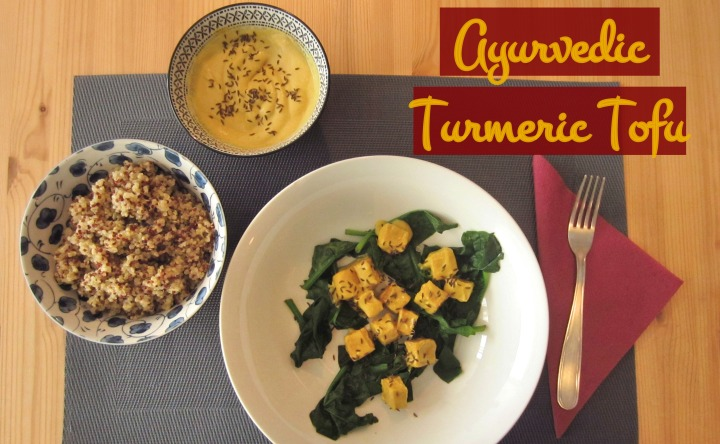 Hearty Food 101: Turmeric Tofu with Spinach, Coconut & Quinoa