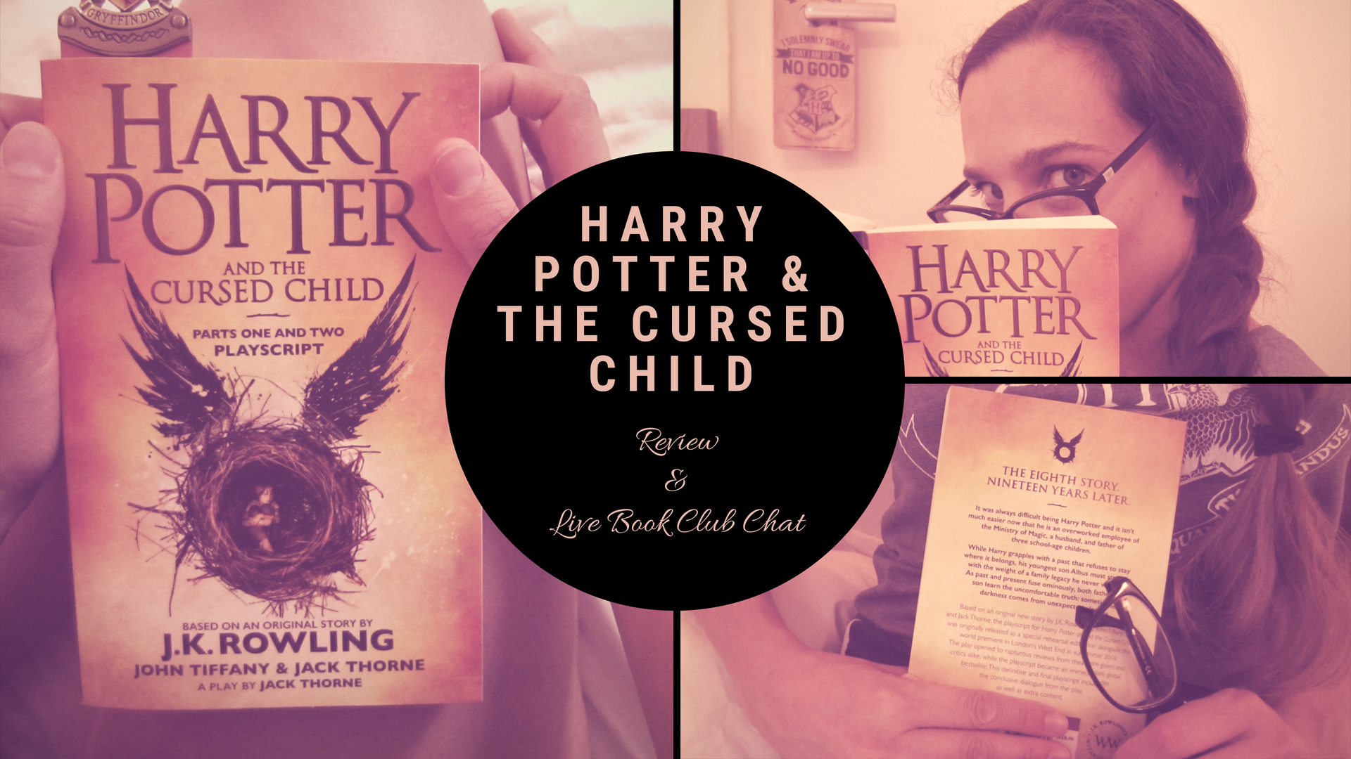 Book Club: Harry Potter and the Cursed Child – Review + Live